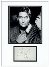 Chris Rea Autograph Signed Display